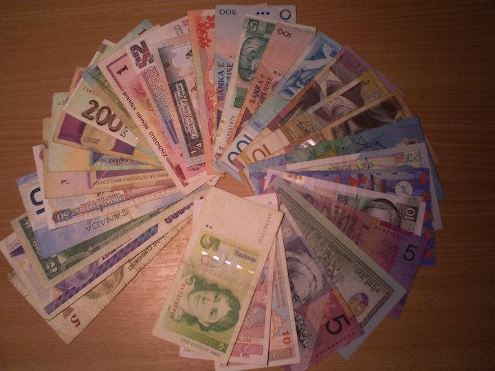 外貨のお札