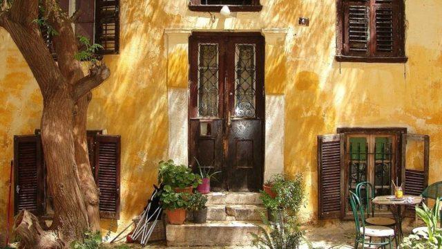 ギリシャの家