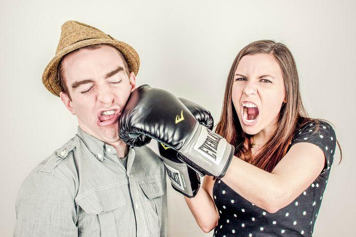 男と女の喧嘩
