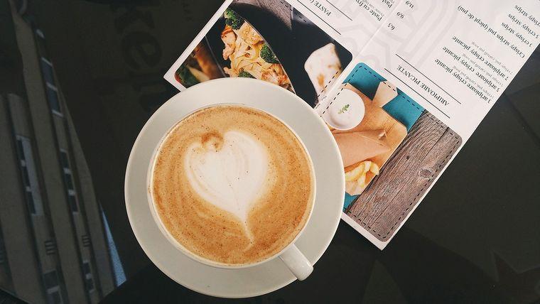 コーヒーとメニュー