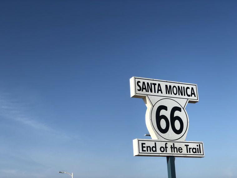 ルート66の最終地点