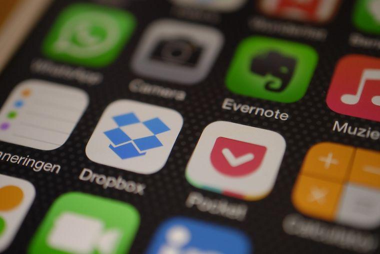 スマートフォンのアプリ