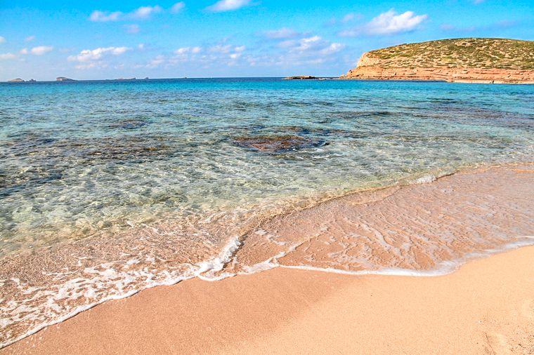 イビサの海