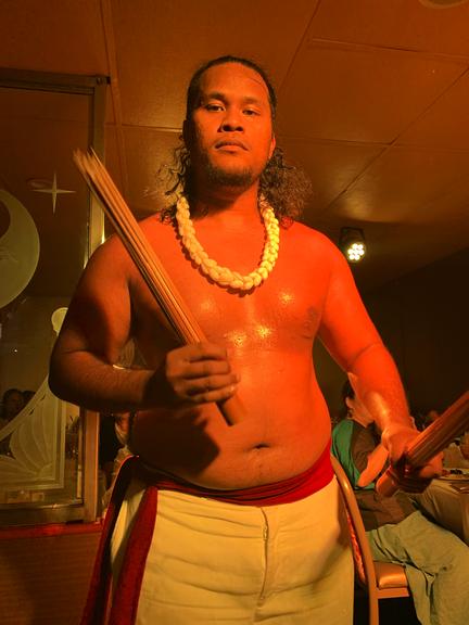 ハワイの男性