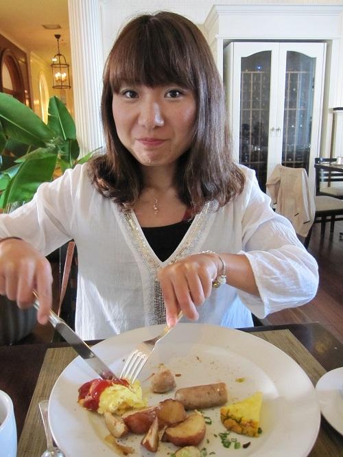 夢の世界一周ブログ-朝食